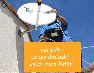instalador montador antenas parabolicas i TDT
