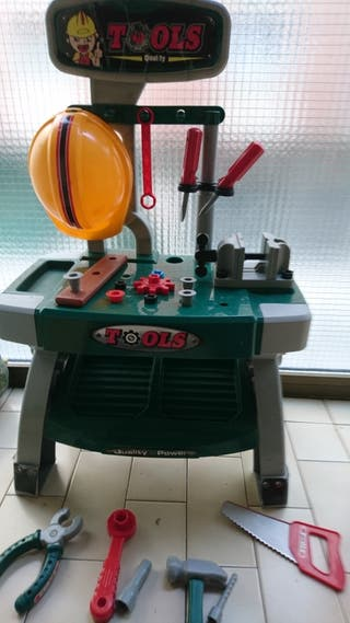 banco herramientas juguete. h