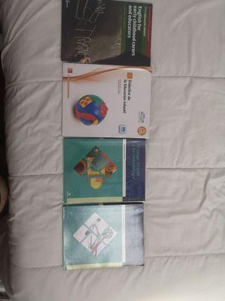 libros técnico superior educación infantil