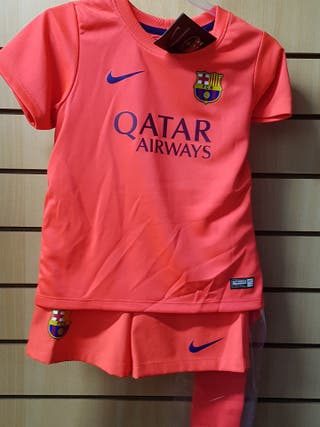 conjunto FC Barcelona talla XS 3-4 años