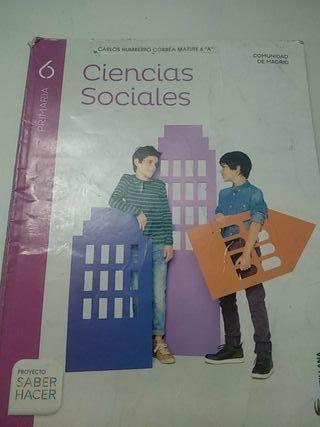 Libro Ciencias sociales 6° primaria