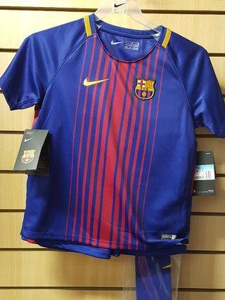 conjunto FC Barcelona niño talla 5-6 años M