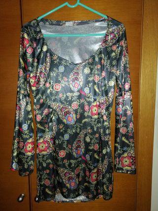 Blusa estampada tela tipo raso