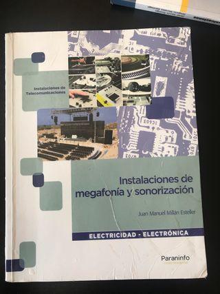 Libro de instalaciones de megafonía y sonorizacion