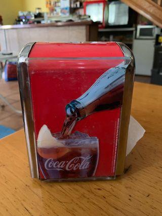 Servilletero coca cola
