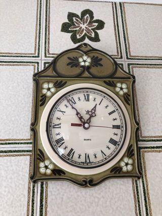 Reloj de cocina años 70