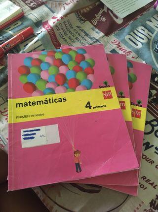 Libro texto matemáticas 4 primaria