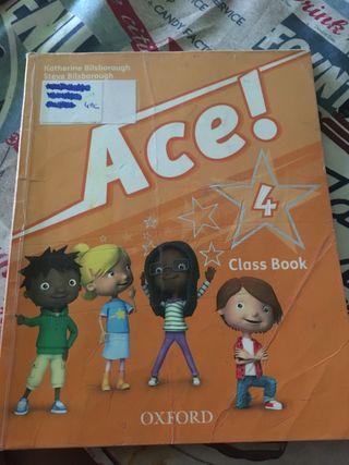 Libro de texto inglés 4 primaria