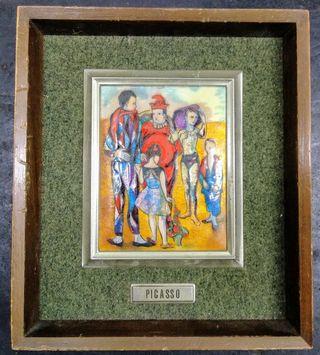 Reproducciones esmalte al fuego Picasso Goya Renoi