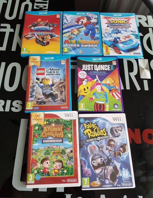 Juegos varios para la Wii U