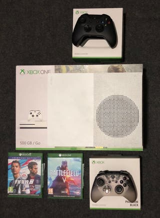 Xbox One S + 2 Mandos + 4 juegos