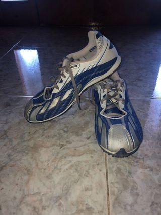 Zapatillas tacos atletismo