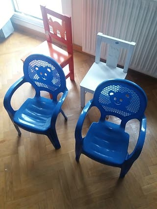 sillas de niño