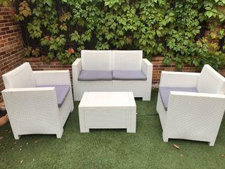 Conjunto de muebles jardín