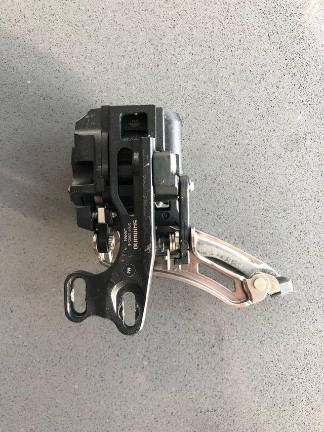 Desviador shimano XTR Di2