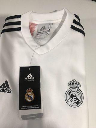 Camiseta térmica Real Madrid 12años(152cm)