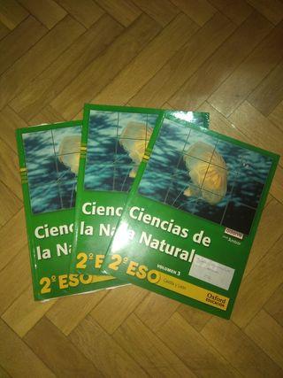 Se vende libros de ciencias de la naturaleza