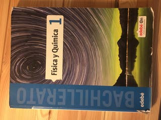Libro física y química 1º bachillerato edebé