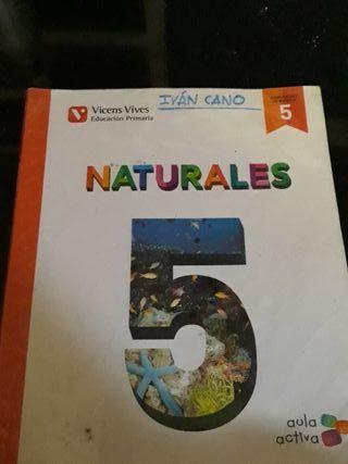 Libro naturales 5° primaria ISBN:978-84-682-2760-3