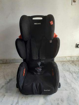 silla de coche recaro maxima seguridad
