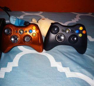 Consola xbox 360 con juegos y mandos