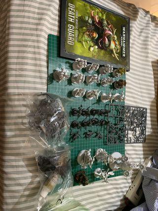 Ejército warhammer 40k Deathguard