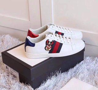 Zapatillas estilo Gucci