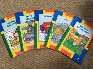 Colecciòn de libros de ingles para niños.