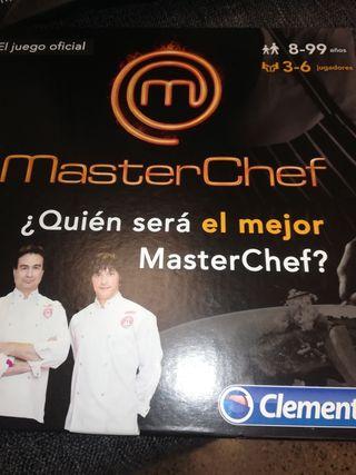 Juego MasterChef