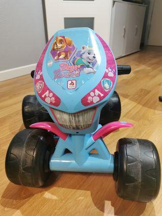 quad electrico niño niña
