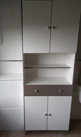 Mueble armario color blanco