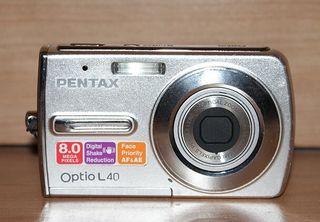 Camara pentax Optio L40