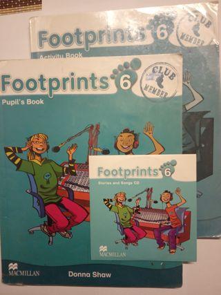 Libro Inglés 6 Primaria Footprints