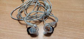 Auricular Shure SE535-CL + cable de repuesto