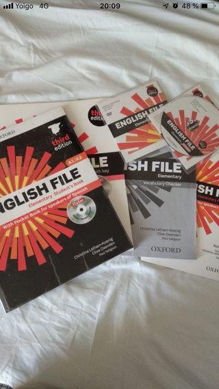 Libros de inglés (escuela oficial de idiomas)
