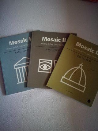 libros bachillerato artístico MOSAIC