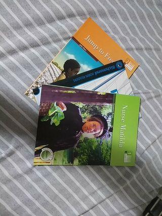 pack de tres libros de inglés