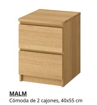 Dos habitaciones y un estudio (completos)IKEA