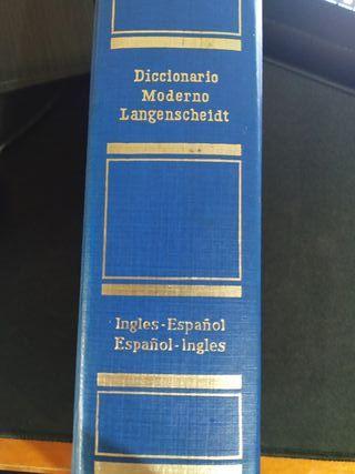 diccionario inglés - español. pequeño, tapa dura