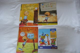 4 libros en Inglés para niños de 3 a 5 años