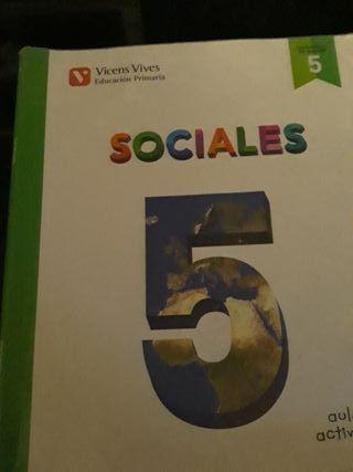 Libro sociales 5° primaria ISBN: 978-84-682-2758-0