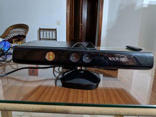 Kinect Xbox 360 + 5 juegos + cascos originales
