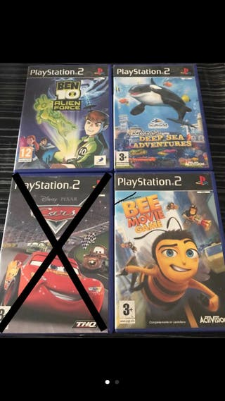Juegos PS2 ( playstation 2 )