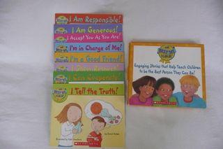 8 libros infantiles en Inglés sobre comportamiento