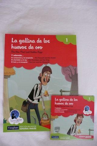 3 libros en Inglés