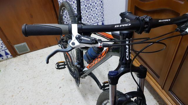 bicicleta de montaña talla l