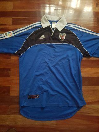 camiseta Athletic fútbol 2000-01