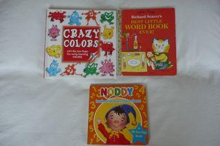 3 libros en Inglés para niños de 3 a 5 años