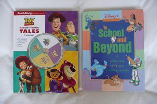 2 libros grandes, infantiles en Inglés