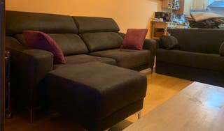 Sofá y sillón cama